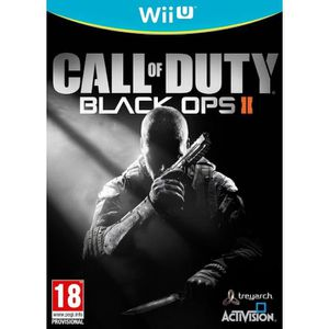 JEUX WII U Call of Duty Black OPS II Jeu Wii U
