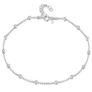 CHAINE DE CHEVILLE Amberta Bijoux - Chaîne Argent 925/1000 - Bracelet