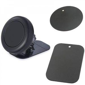 FIXATION - SUPPORT Support Téléphone Noir Mini Aimant Tableau Bord Su