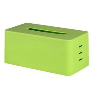 BOITE DE RANGEMENT Boîte de rangement de tissu pour vert STO317