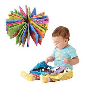 LIVRE D'ÉVEIL Livre Tissu Bébé Enfant Age Eveil Premier Age Inte