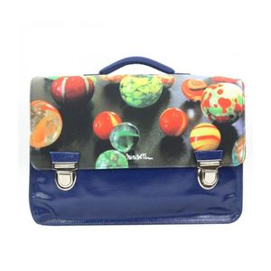CARTABLE Bagtrotter Cartable Miniséri 39cm Bleu Motif Bille