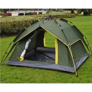 TENTE DE CAMPING Tente camping Automatique Double Couche FAMILIALE