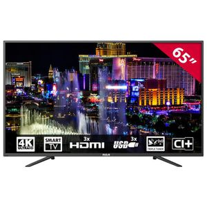 Téléviseur LED RCA RS65U1-EU 65 inch 4K UHD Smart LED TV