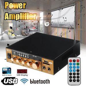 AMPLIFICATEUR HIFI Amplificateur Audio 600W AC 220V-DC 12V Stéréo Kar