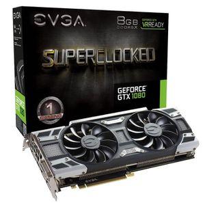 CARTE GRAPHIQUE INTERNE EVGA Carte graphique GeForce® GTX 1080 SC Gaming A