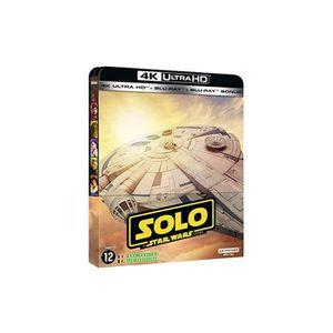 BLU-RAY FILM Solo, A Star Wars Story [Combo Blu-Ray, Blu-Ray 4K