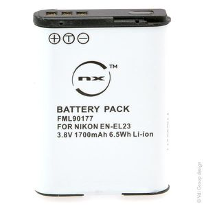 BATTERIE APPAREIL PHOTO NX - Batterie  photo 3.8V 1700mAh  - Blister(s)...