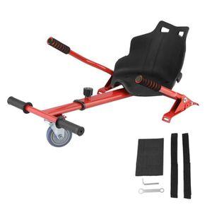 ACCESSOIRES GYROPODE - HOVERBOARD  Kit Kart Universel Pour Gyropode Rouge - Hoverkar