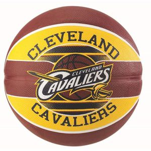 BALLON DE BASKET-BALL SPALDING Ballon de basket-ball NBA Team Cleveland