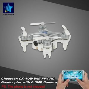 DRONE Original RC Quadcopter drone Cheerson CX 10W 4CH g