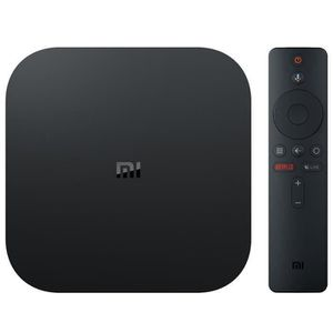 BOX MULTIMEDIA XIAOMI TV BOX S - Android 8.1 TV 4K HDR - Noir ver