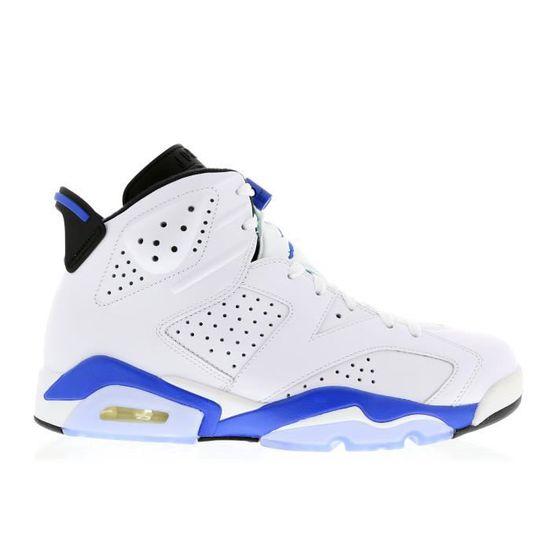 air jordan 6 blanc bleu