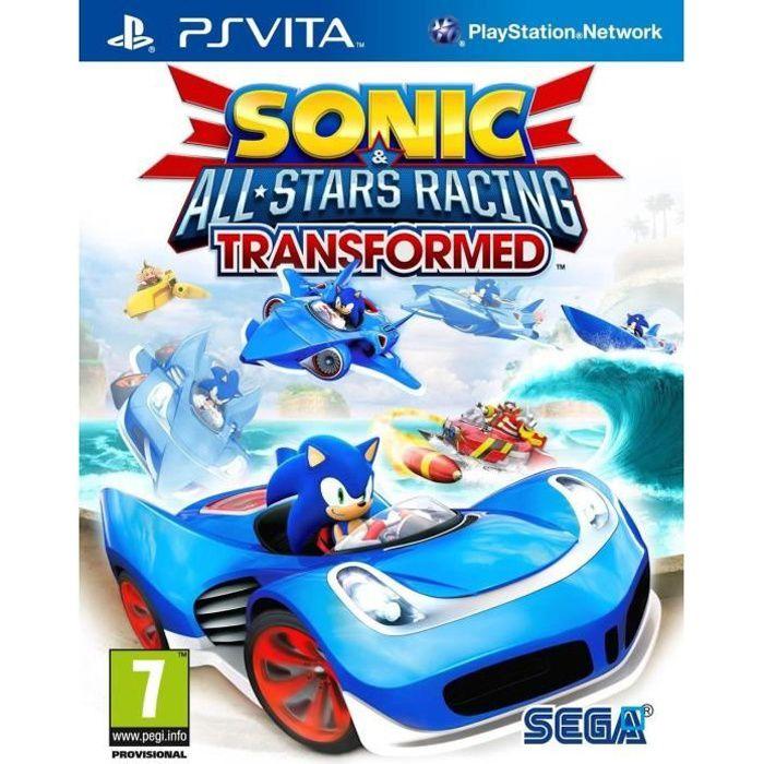 SONIC & ALL STARS RACING TRANSFORMED / PS Vita