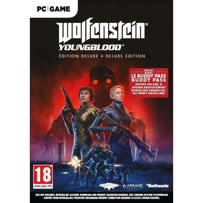 Wolfenstein II: Youngblood Deluxe Edition Jeu PC