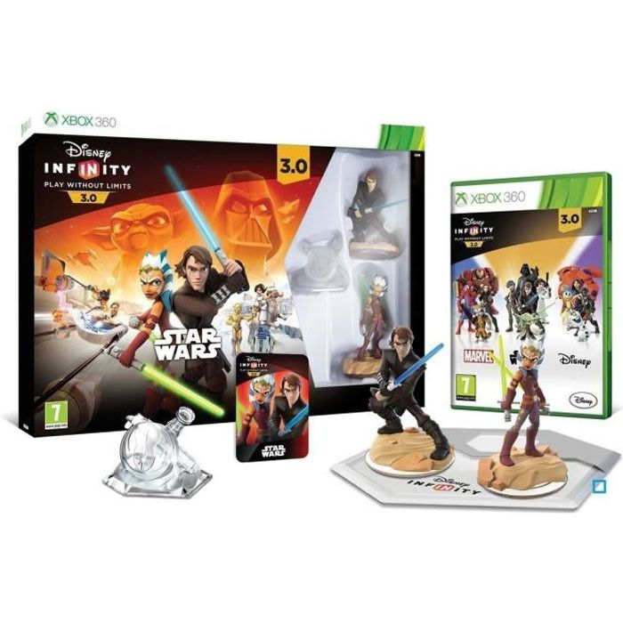 JEU XBOX 360 Pack démarrage Disney Infinity 3.0 Star Wars Xbox