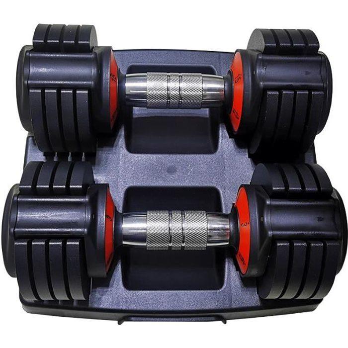 exercice avec sport les kit supports haltères et disques modulables butterfly musculation haltère 4kg 5kg 7kg 10kg 20kg 30kg 50kg