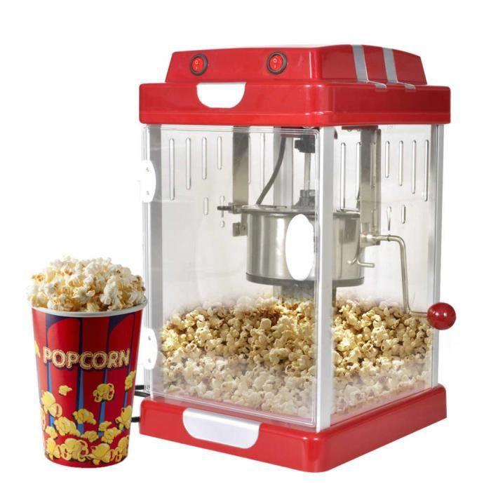 HENGL Machine à pop corn professionnelle 2,5 Onces