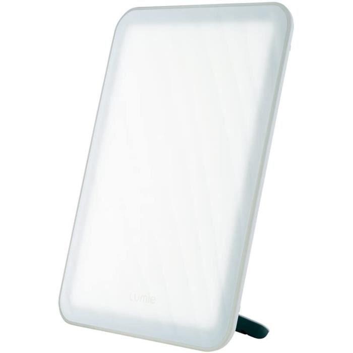 Luminothérapie Lumie Vitamin L - Lampe Lumière Du Jour Compacte, 10 000 Lux Tablette De Lumière, Utiliser En Position Po 540230