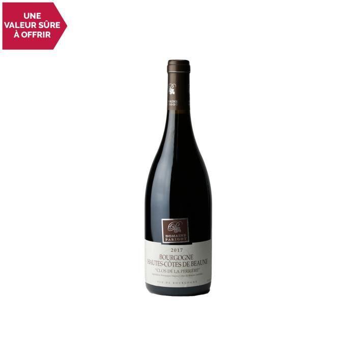 Bourgogne Hautes Côtes de Beaune Clos de la Pérrière Rouge 2017 - Domaine Parigot Père et Fils - Vin AOC Rouge de Bourgogne - 75cl