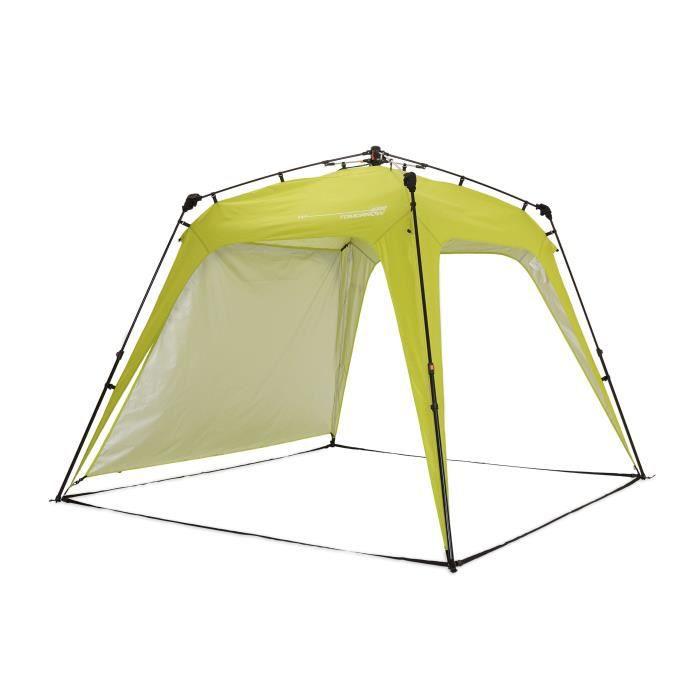 Lumaland x Where Tomorrow Tonnelle de Jardin – 1 Panneau Latéral Inclus - Pavillon de Camping – Forte Protection Intempérie - Vert