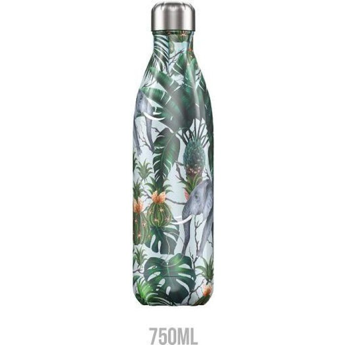 BOUTEILLE ISOTHERME - TROPICAL ELEPHANT 750 ML - CHILLY'S