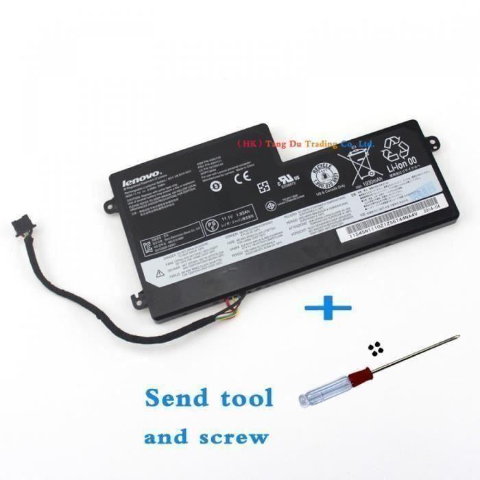 Véritable Lenovo Batterie D\'Ordinateur Portable Thinkpad X240 X240s X250 X250s T440 T440s T450 T450s T550 K2450 Batteries 45n