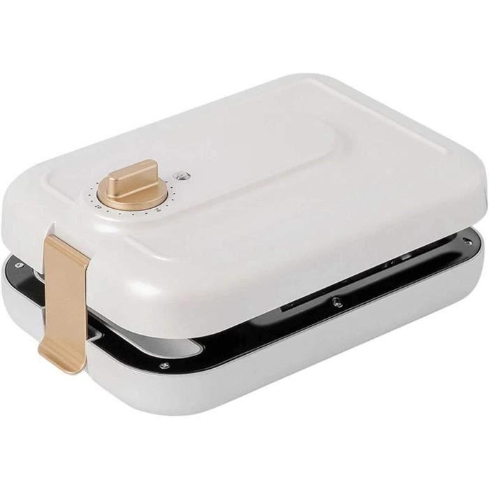 GAUFRIER AJH Gaufrier avec 3 plaques Amovibles GrillePain Multifonctionnel Sandwich Omlette Makers pour Paninis Cookies Hash Bro1401