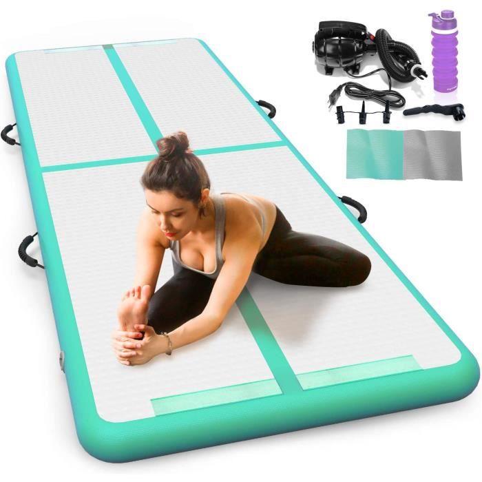 TAPIS DE YOGA apis de Gymnastique Gonflable joylink 10 cm Hauteur Air Track Gymnastique Tumbling Mat Tapis de Gym Gonflable Pist216