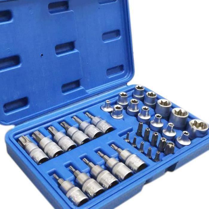YF13070-Clés à douille torx clés à Douille 34 pcs torx