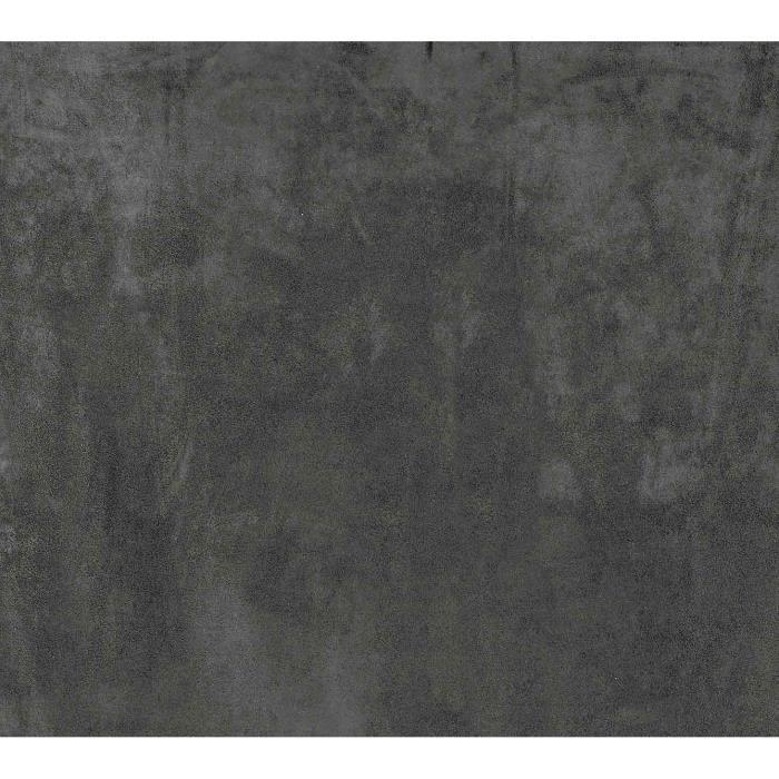 Rideau Uni Aspect Suédine Gris Foncé 145 x 260 cm
