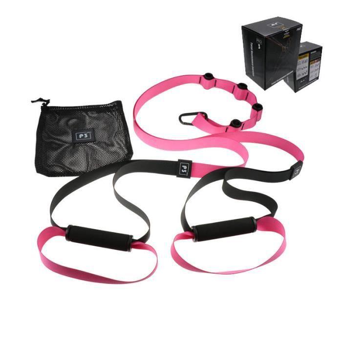 Elastique de Résistance Musculation Fitness Pro 4 Rose