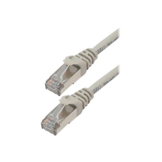 MCL Câble réseau - 10 m Catégorie 6a - Pour Périphérique réseau