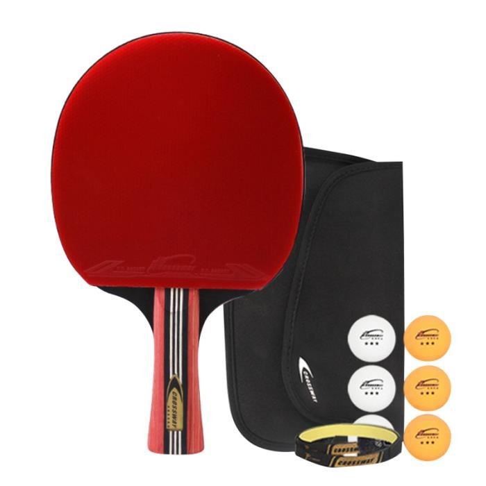 Raquettes de tennis de table à six étoiles Raquette de ping-pong RAQUETTE DE TENNIS DE TABLE - CADRE DE TENNIS DE TABLE