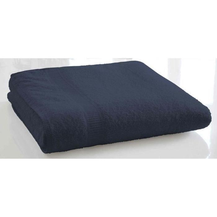 TODAY Drap de bain Ciel d'orage 100% Coton - 70 x 130 cm