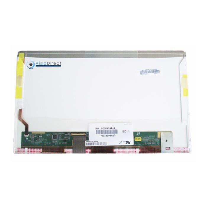 Dalle Ecran 14- LED pour FUJITSU Siemens Lifebook S752 ordinateur portable 1366X768