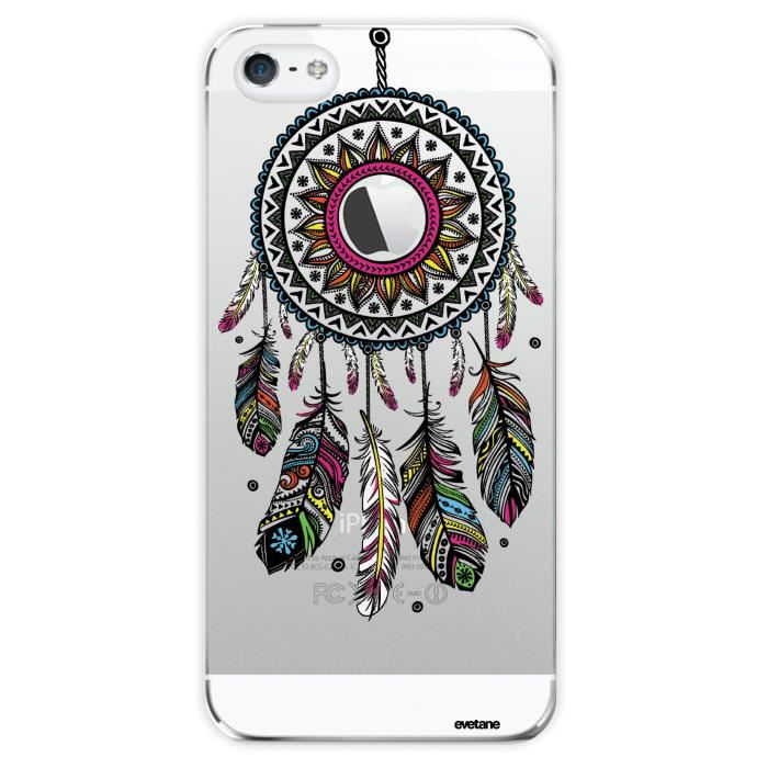 Coque crystal attrape r ve pour apple iphone 5 5s achat for Housse iphone 5 c