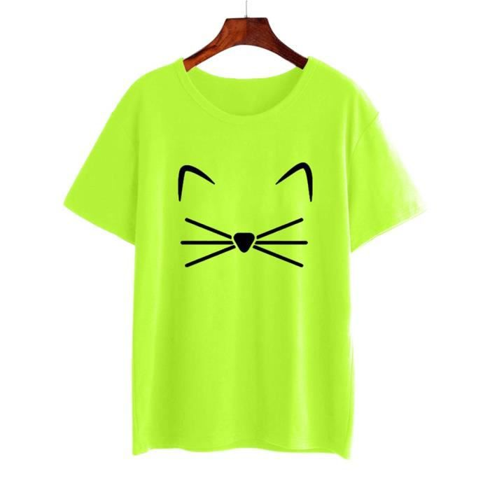 Fille licorne T-shirt top KIDS New Fluo T-shirt Âge 4 5 6 7 8 9 10 11 12 13 ans