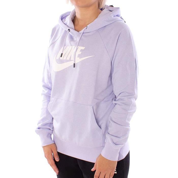 sweatshirt femme lilas