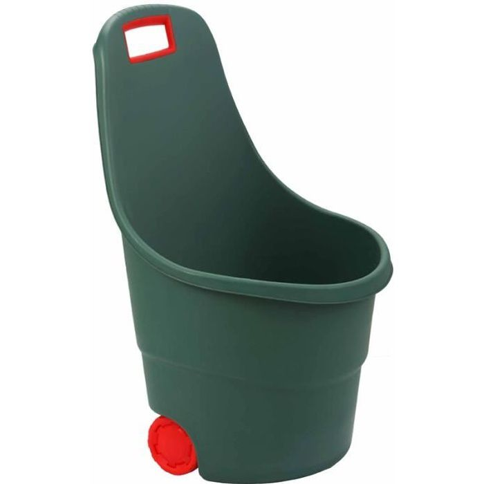 TERREAU - SABLE Chariot de jardin en plastique 2 roues 45L