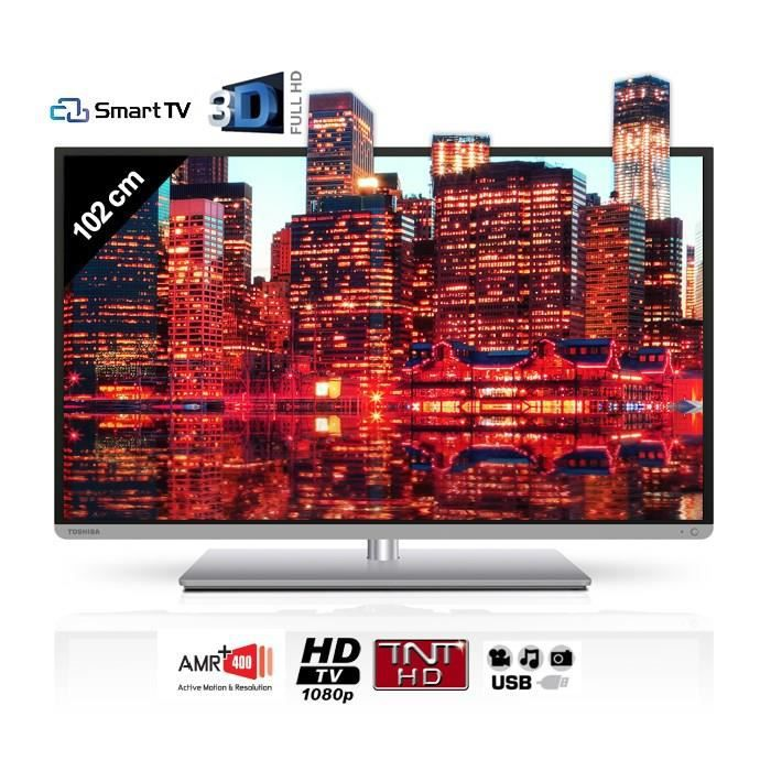 toshiba 40l5435dg smart tv 3d 102 cm t l viseur led avis et prix pas cher cdiscount. Black Bedroom Furniture Sets. Home Design Ideas