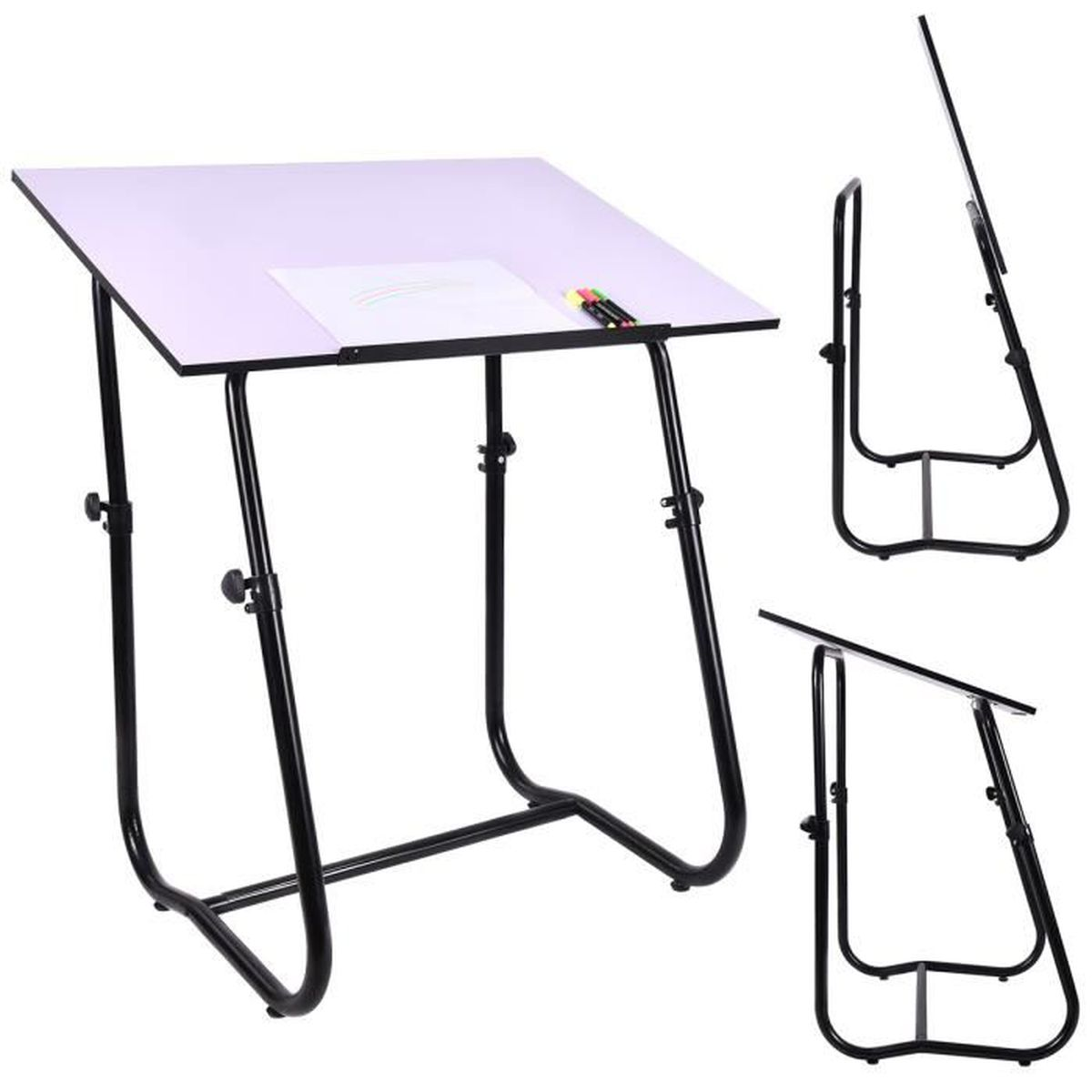 Table dessin inclinable table de bureau multifonctionnel for Table a dessin