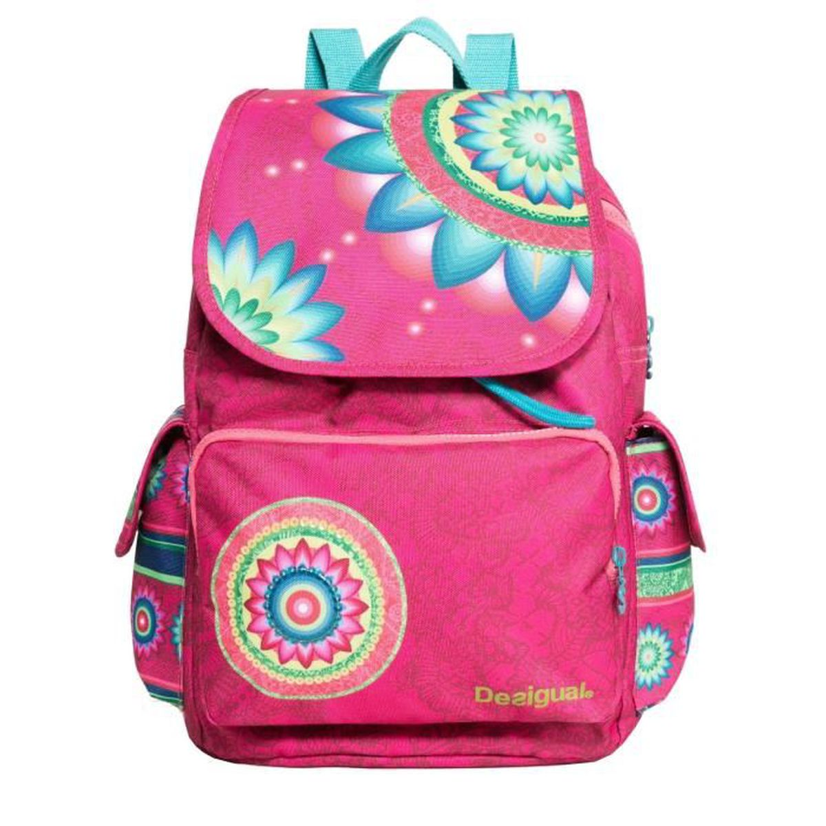sac dos desigual mochila pomelo 67x31f8 3022 rose rose achat vente sac dos 2009827764995. Black Bedroom Furniture Sets. Home Design Ideas