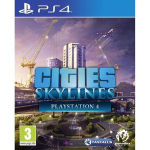 JEU PS4 Cities Skyline Jeu PS4