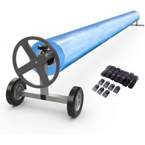 BÂCHE - COUVERTURE  Enrouleur de Bâche Télescopique de Piscine Economi