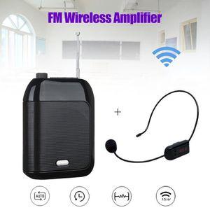 HAUT-PARLEUR - MICRO T9 15W Haut-parleur d'amplificateur de voix portab
