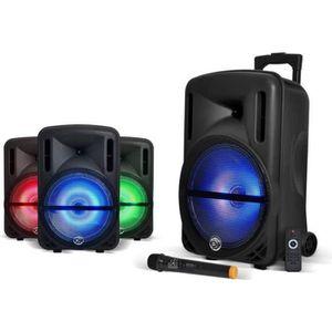 PACK SONO MYDEEJAY DJOON 12 Enceinte Autonome LED Bluetooth