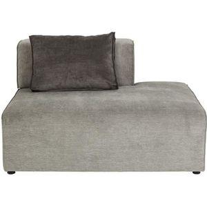 MÉRIDIENNE Méridienne droite canapé Infinity gris Kare Design