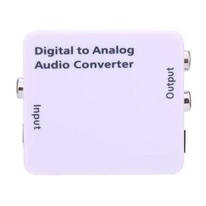 CÂBLE TV - VIDÉO - SON XY Adaptateur de Convertisseur Audio Analogique -