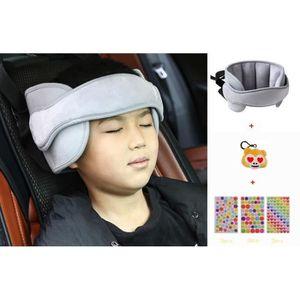 SIÈGE AUTO Siège d'auto pour bébé, appui-nuque et serre-tête,